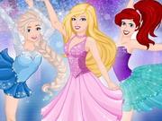 Barbie Skating With Princesses