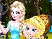 Baby Elsa Forest Trip