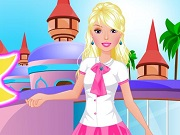Barbie going to school dress up